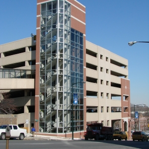 Allentown Government Area Parking Structure