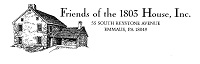 1803 logo Alan M. Hawman III, Architect, Emmaus, PA   1803 House project